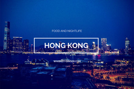 food and nightlife in Hong Kong