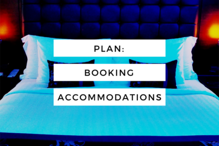 booking accommodations