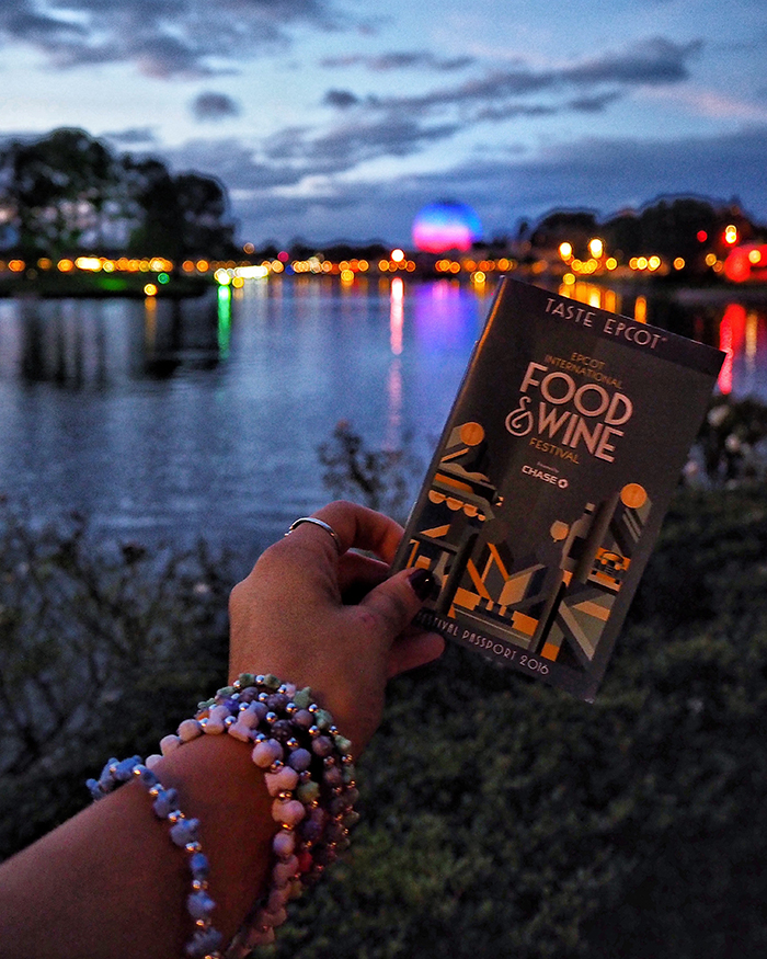 FOOD AND WINE AT EPCOT