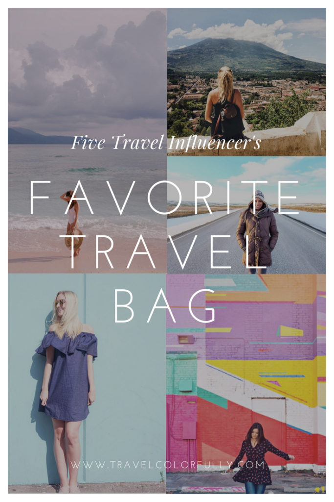 Check Out Five Travel Influencers and Their Favorite Travel Bag!