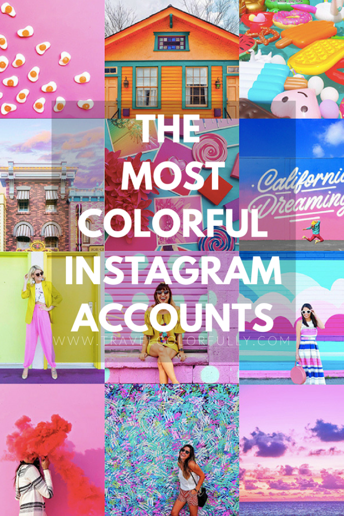 Check out some of the Most Colorful Instagram Accounts and get inspired!