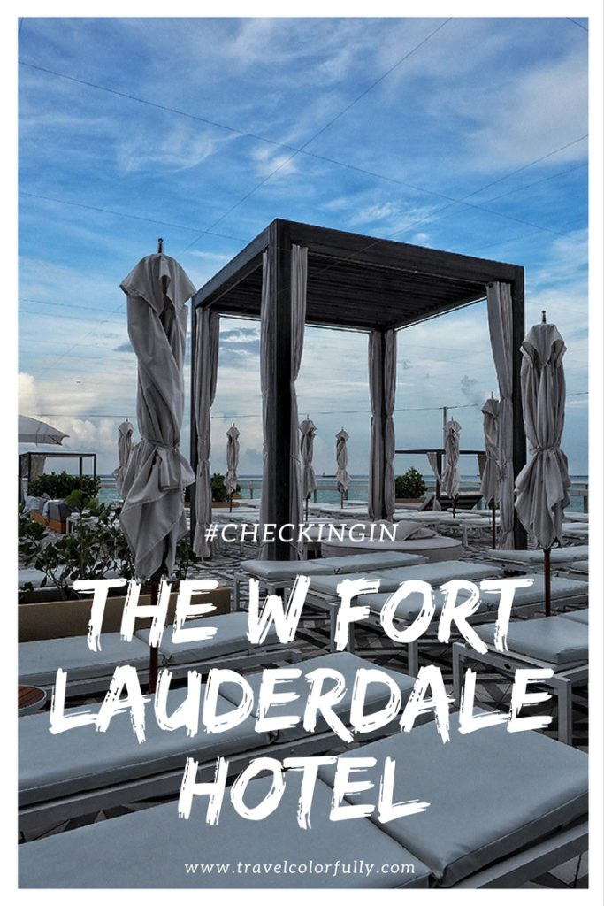 Check into the W Fort Lauderdale Hotel for the ultimate staycation!