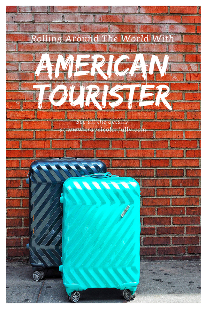 Roll around the world with American Tourister Luggage!