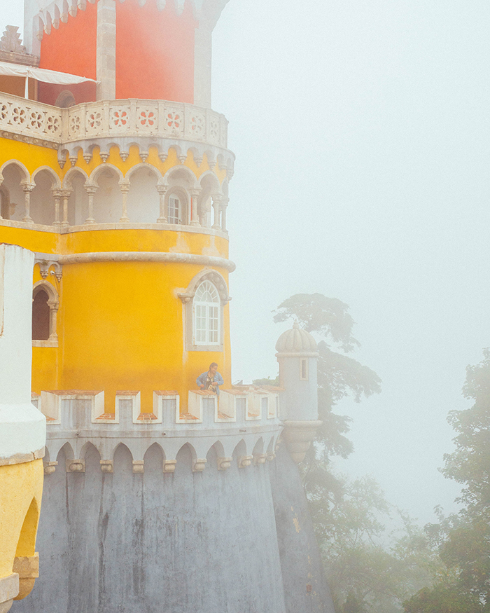 sintra in bad weather