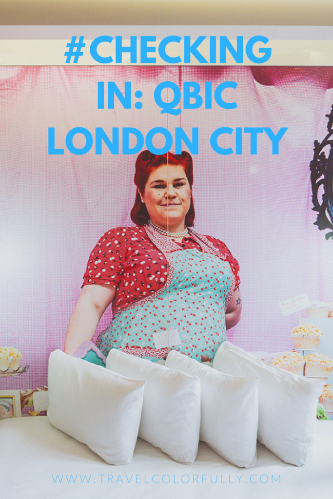 Check into the Qbic London City in East London!
