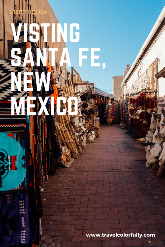 Visit Santa Fe, new mexico and check out the downtown area, shopping, and of course Meow Wolf.
